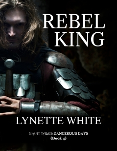 ad for Rebel King by Lynette White
